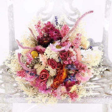 Bridal Posy - Spring Blossom - Dried Flowers