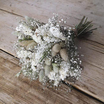 Bridal Posy - Vintage Pastel - Dried Flowers