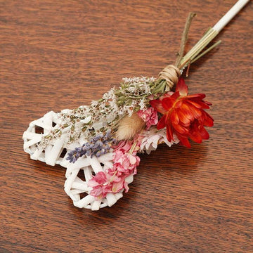 Dried Flower Girl Wand - The Woolhope Wedding Collection