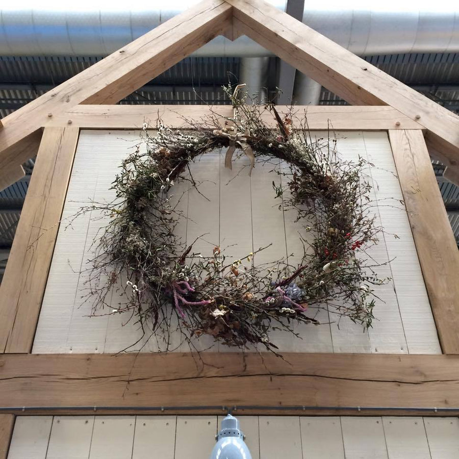 You Choose The Theme - Dried Flower Wreath