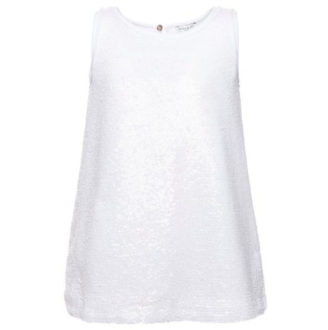 Monnalisa Sleeveless Sequin Top