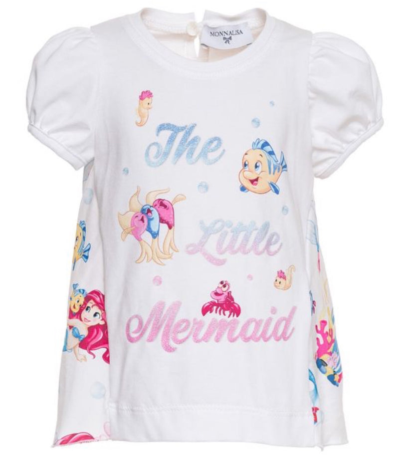 Monnalisa Little Mermaid Top