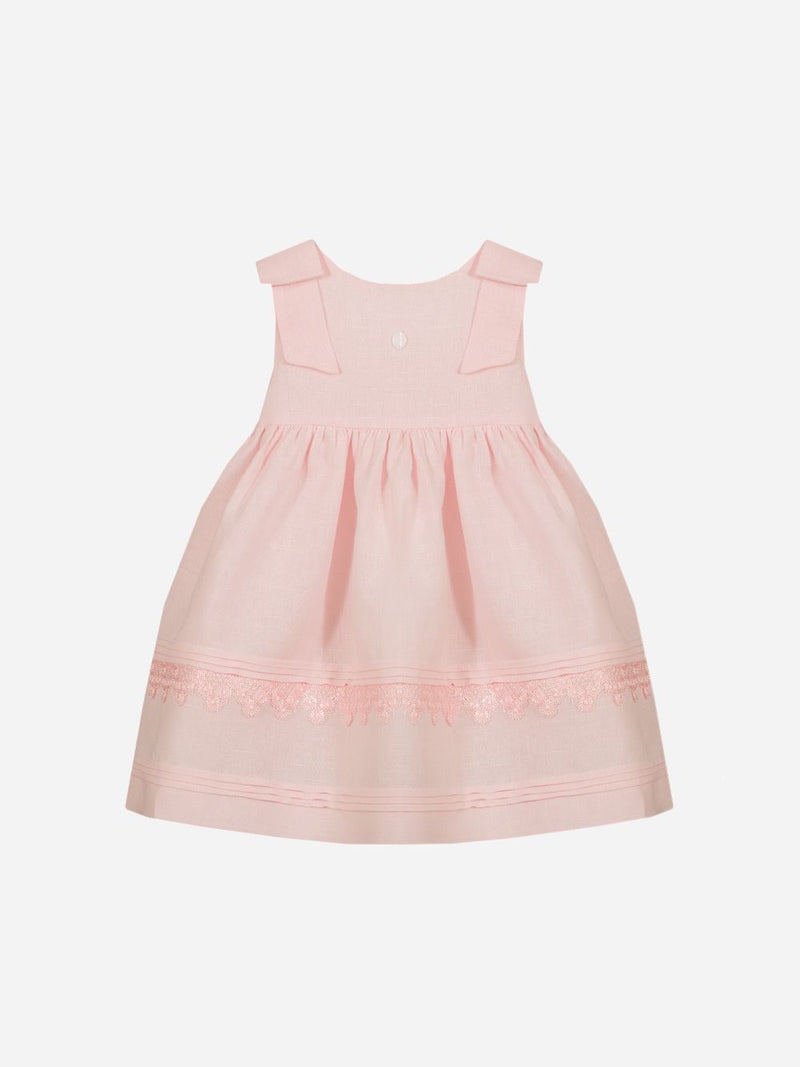 Patachou Pink Woven Dress