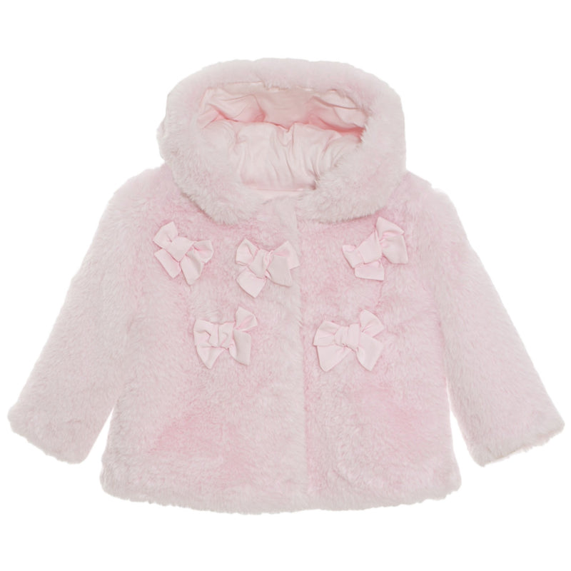 Patachou Faux Fur Jacket