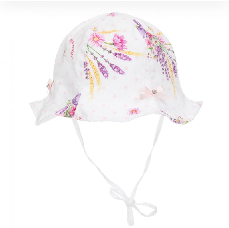 Monnalisa Baby Cotton Hat