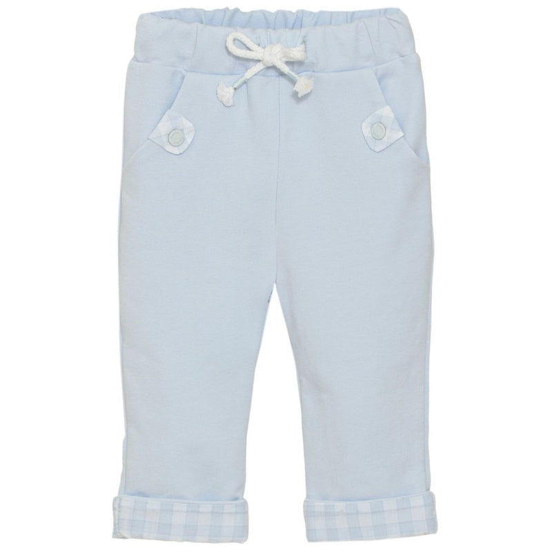 Patachou baby boys blue trousers