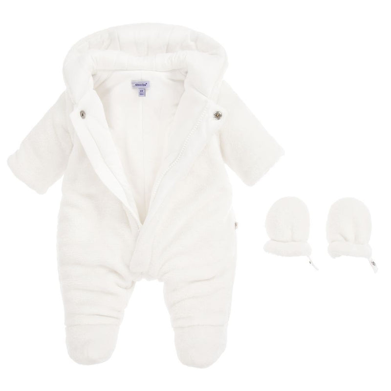 Absorba Cream Snow Suit