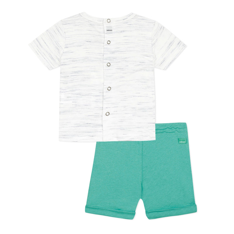 Catimini T-shirt and Shorts Set
