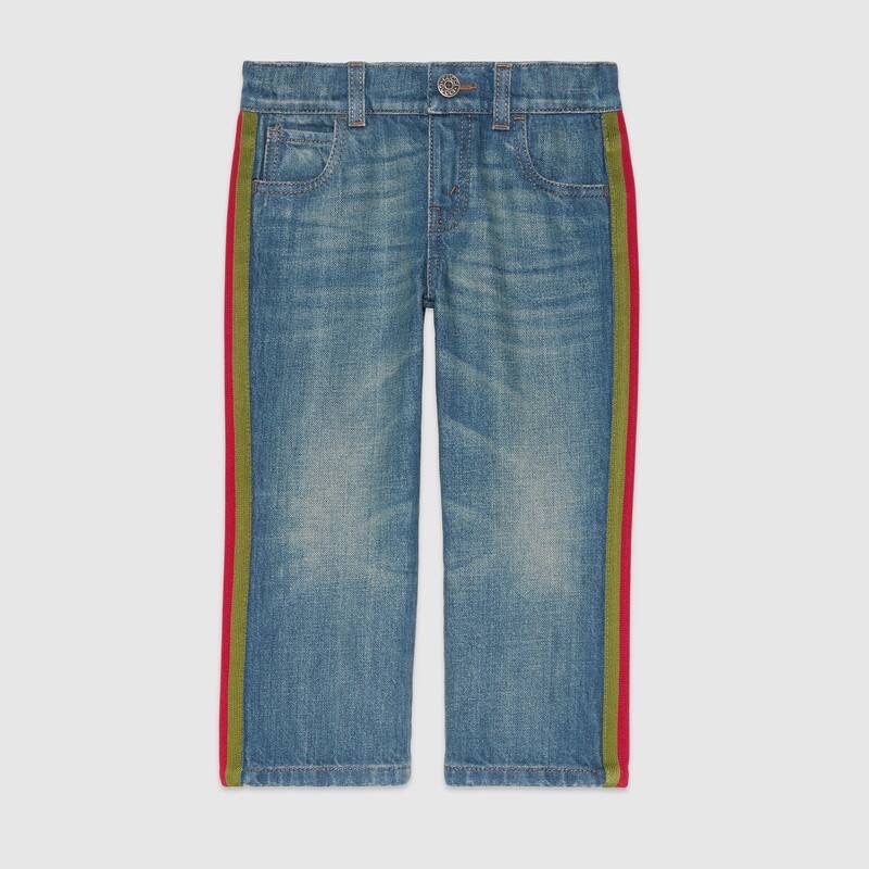 Gucci Jeans with side Detail