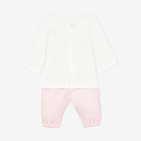 CATIMINI Jersey T-shirt and Trousers