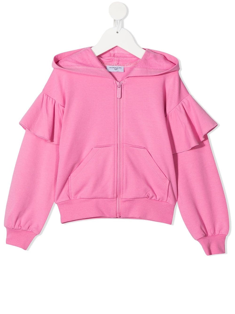 MONNALISA Alice Zip Sweatshirt