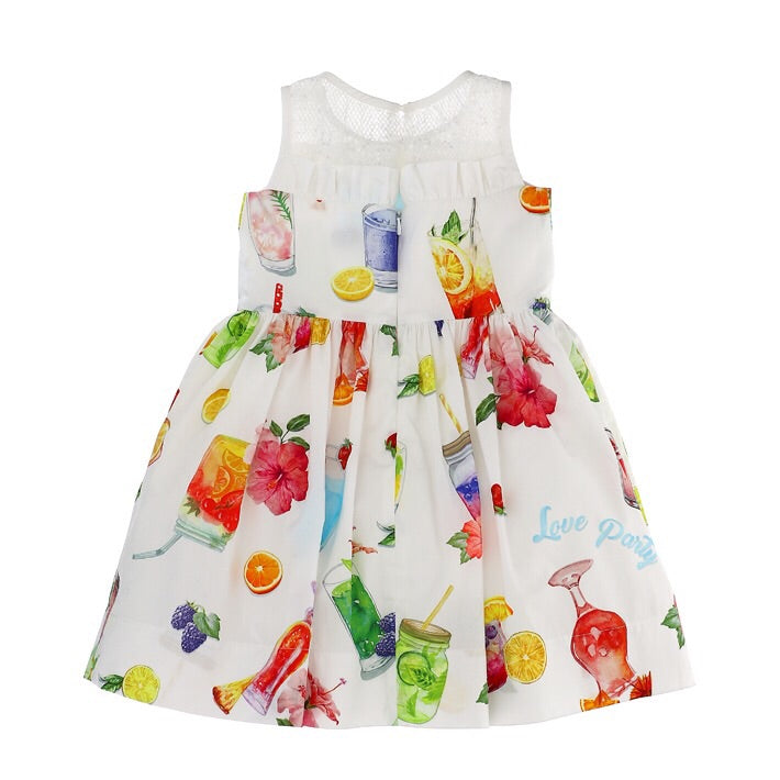 Monnalisa Fruity Fun Dress