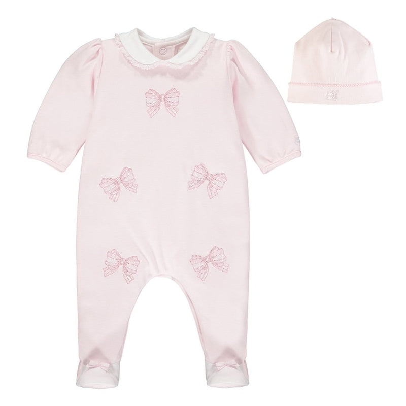 Emile et Rose Baby Grow and hat set