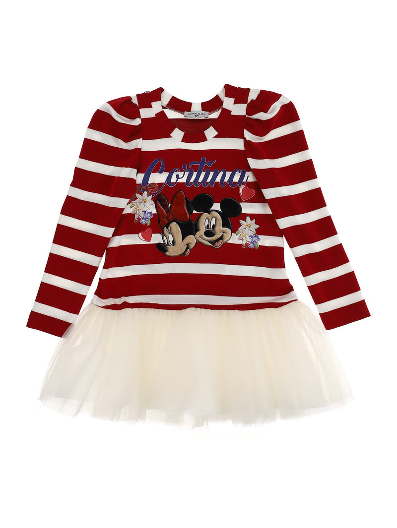MONNALISA Minnie Mouse Dress