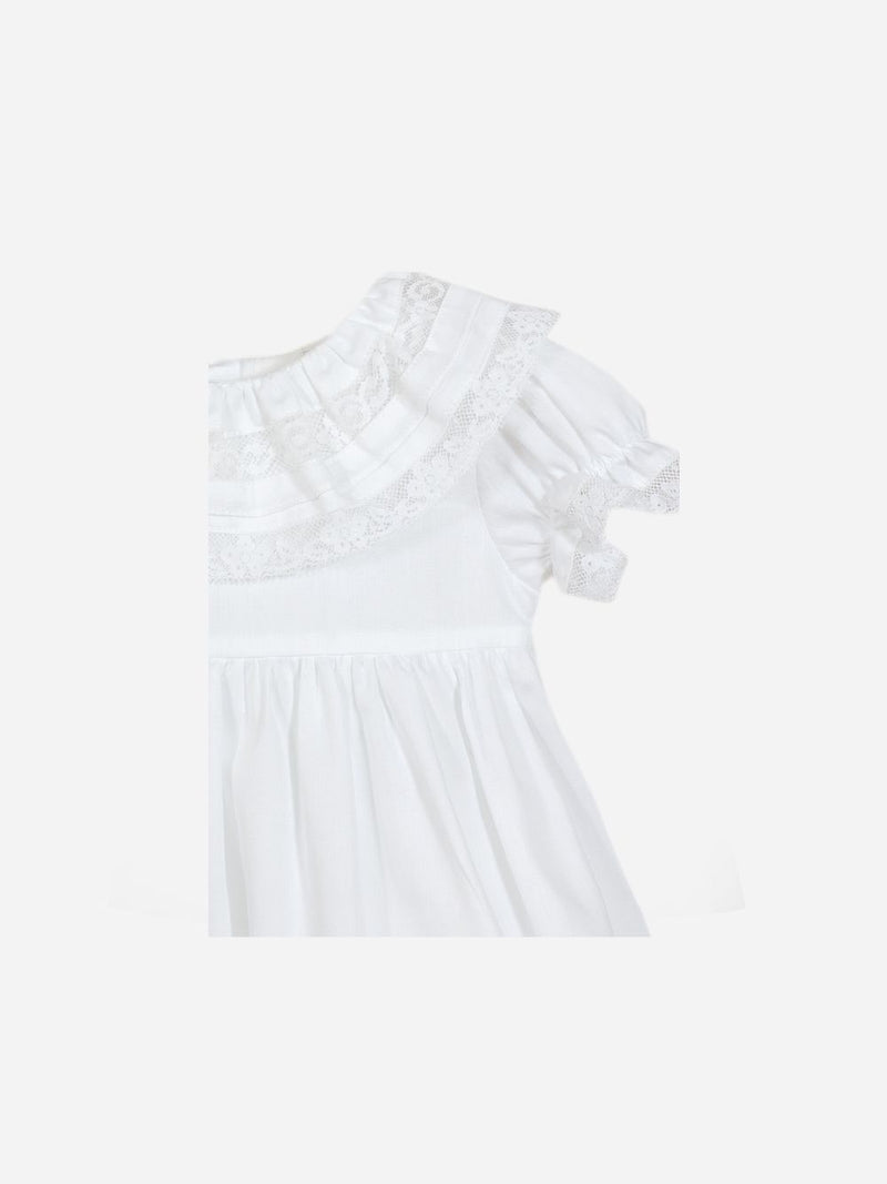 Patachou White Dress