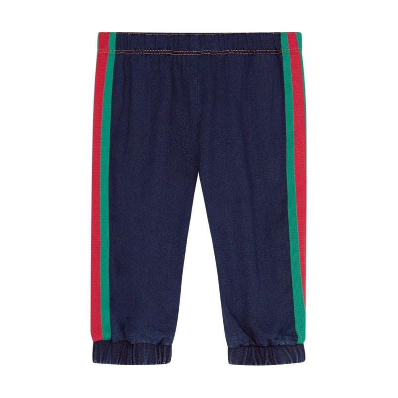 Gucci Baby Denim Joggers