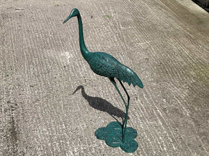 Small Cast Metal Bird