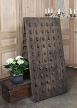 Load image into Gallery viewer, 120 Bottle Free Standing Oak Champagne Rack