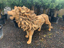 Load image into Gallery viewer, Exceptional 7ft 6 Driftwood Lion Statue
