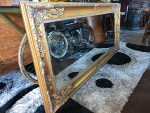 Massive Gold French Style Mirror