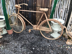 Wooden Teak Bicycle