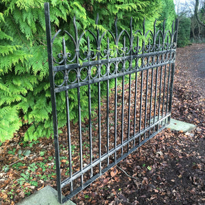 Heavy Duty Egyptian Iron Railings