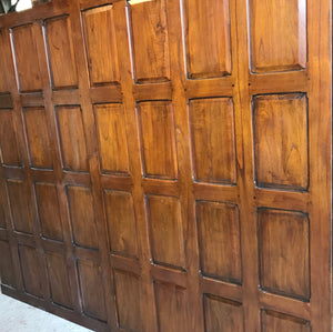 6ft Teak Wall Panels