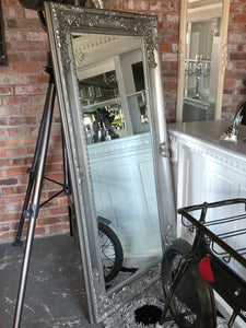 Massive Silver French Style Mirror