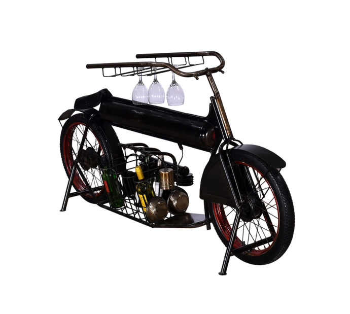 Henderson Motorcycle Display Bar & Wine Rack
