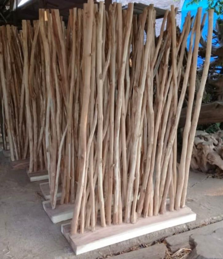 Teak Driftwood Screen
