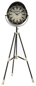 Tripod Stage Light Clock