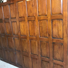 Load image into Gallery viewer, 6ft Teak Wall Panels