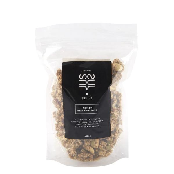 NUTTY RAW GRANOLA