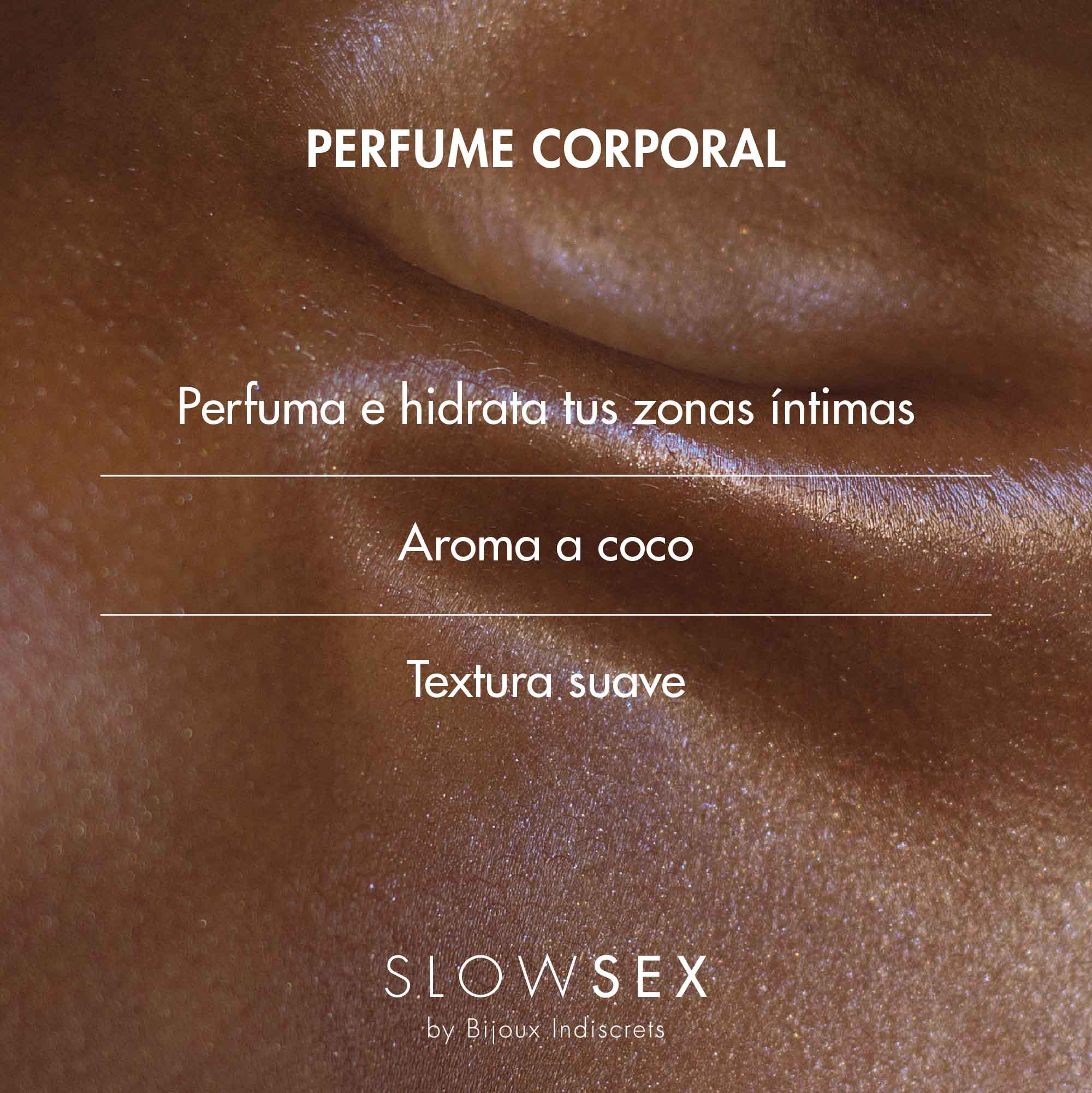 Intimate solid Perfume · Perfume sólido corporal.