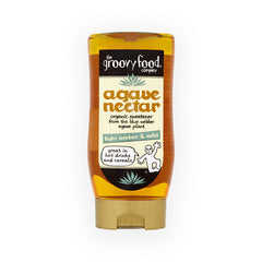 The Groovy Food Company Organic Agave Nectar Amber and Mild 250ml