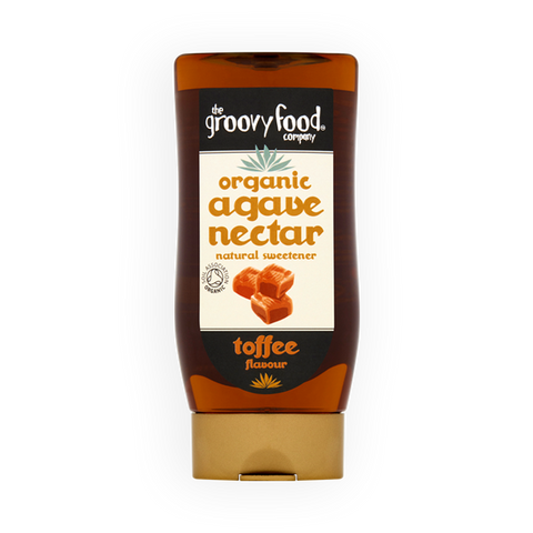 Organic Agave Nectar Toffee Flavour