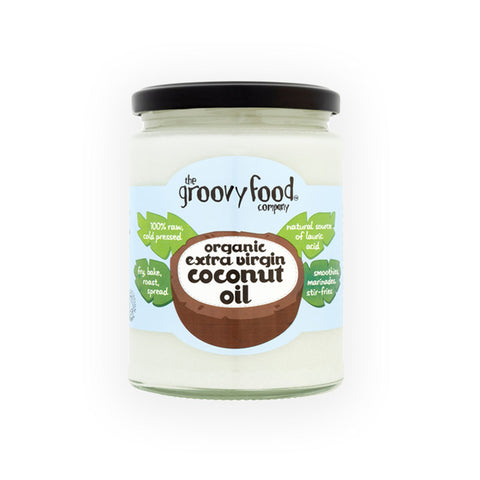 The Groovy Food Company Organic Virgin Coconut Oil 500ml