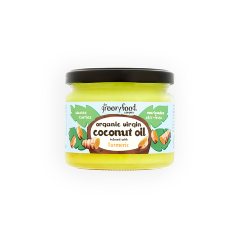 Organic Virgin Coconut Oil infused with Turmeric 283ml