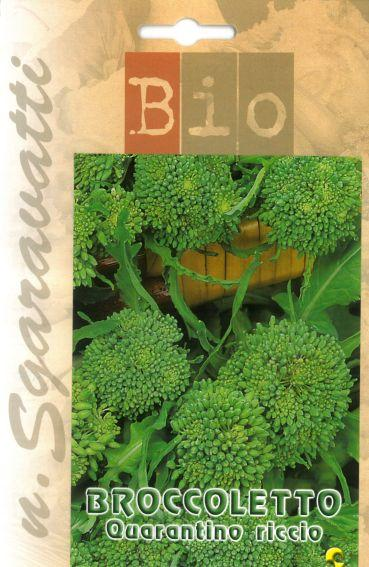 Semi di Broccoletto quarantino Bio
