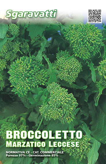 Semi di Broccoletto Marzatico Leccese Cima Grossissima