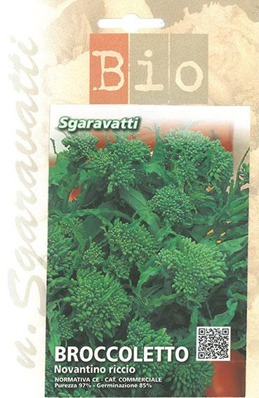 Semi di Broccoletto Novantino Bio