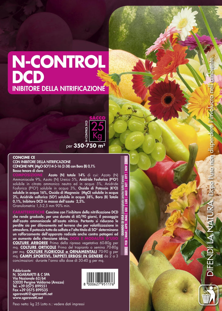 Concime N-control Dcd Concime granulare