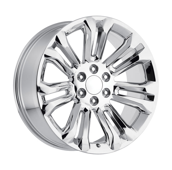 "oneroad-wheels - Chrome | GMC Sierra | 22"" Wheels 