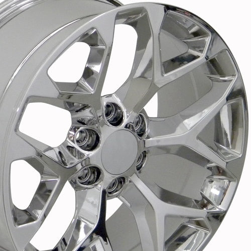 "oneroad-wheels - Chrome | Chevrolet Silverado | 24"" Wheels 