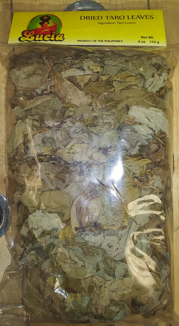 Lucia Dried Taro Leaves