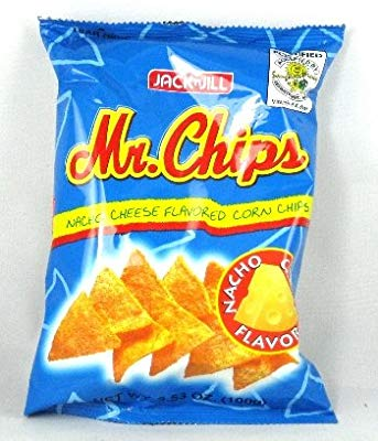 Jack N Jill Mr Chips Nacho Cheese Flavored Corn Chips