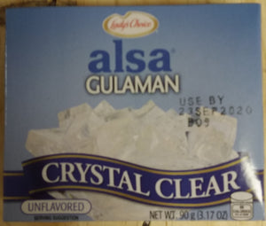 Ladys Choice Alsa Gulaman Unflavored Crystal Clear