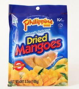 Philippine Brand Dried Mangoes