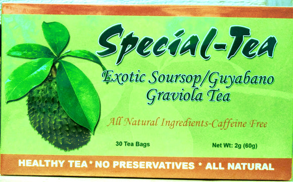 Exotic Soursop Guyabano Graviola Tea