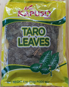 Kapuso Dried Taro Leaves